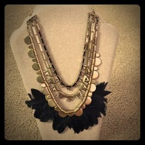 Stella & Dot Plume necklace!